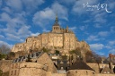 Le Mont Saint-Michel face sud.