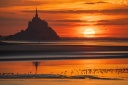 MG 9523 Soleil couchant au Mont Saint-Michel