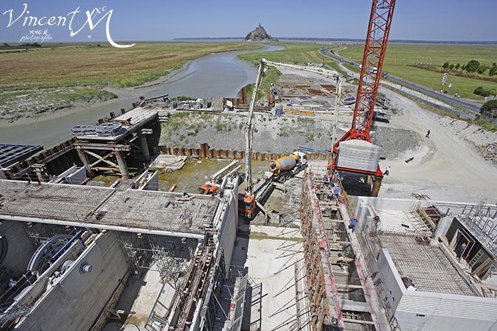 construction d un barrage sur le couesnon grand projet de r 233 tablissement du caract 232 re maritime